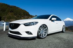 VOSSEN® - Silver with Brushed Face. Choose your rim width, offset, bolt pattern and hub diameter from the option list. Mazda6, Slammed Cars, Vossen Wheels, Sexy Cars, Cars And Motorcycles, Dreams, Sport, Vehicles, Face