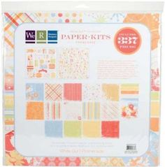 We R Memory Keepers White Out Collection Paper Kit Promenade Sealed Package #WeRMemoryKeepers