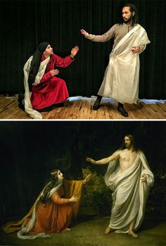 Francesco Fragomeni and Chris Limbrick got bored at the office and decided to recreate famous art masterpieces using only the materials they had at hand. Classic Art, Photo Projects, Art Painting, Famous Artwork, Painting, Francesco, Art, Famous Art, Art Pictures