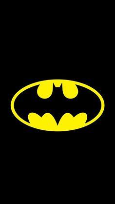 !!TAP AND GET THE FREE APP! UnicolorMovies Comics Batman Superhero Black Dark Simple HD iPhone 5 Wallpaper