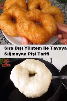 Turkish Recipes, Food Humor, Breakfast For Kids, Food Preparation, Diy Food, Bon Appetit, Bagel, Tea Time, Delicious Desserts