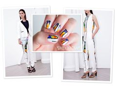 How-to: Phillip Lim-inspired nail design