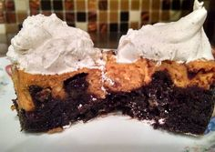 Brownie Pumpkin Pie Bars Recipe -  Yummy this dish is very delicous. Let's make Brownie Pumpkin Pie Bars in your home!