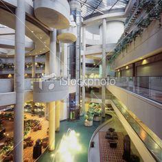 Lobby Atrium Royalty Free Stock Photo