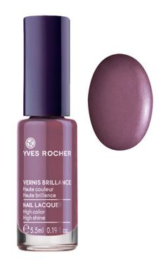 For a smooth, lacquered finish try our nail lacquer in Powdery Mauve! @Yves Rocher USA #GrandRougeMoment #yvesrocher