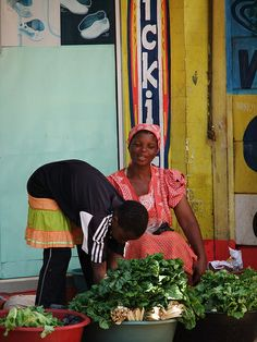 market, Swaziland