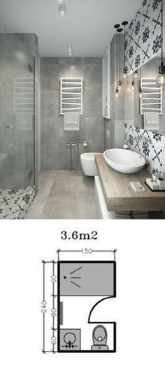 Shower Room Restoration Concepts: restroom remodel expense, bathroom ideas for s. - Shower Room Restoration Concepts: restroom remodel expense, bathroom ideas for small bathrooms, tin - Bathroom Layout, Bathroom Interior, Bathroom Ideas, Bathroom Cabinets, Mirror Bathroom, Shower Mirror, Shower Ideas, Modern Bathroom, Diy Shower
