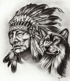 "Alice draws-"" alicja w krainie rysunku "" future tatoo tattoo Native American Drawing, Native American Tattoos, Native Tattoos, Native American Images, Native American Artwork, American Indian Art, Tribal Tattoos, American History, American Symbols"