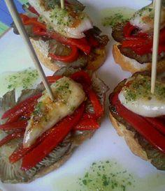 Salad Recipes, Healthy Recipes, Dinner For One, Tostadas, Sin Gluten, Caprese Salad, Chutney, Catering, Brunch