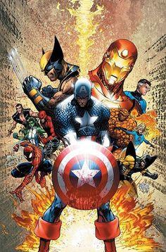 Guerra Civil: Dividindo o Universo Marvel.