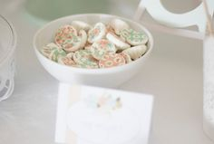 White chocolate coconut truffles and a fifteen party