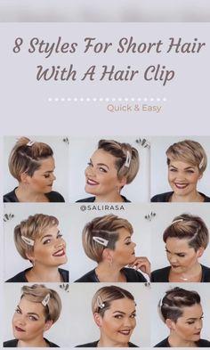 Very Short Hair, Short Hair With Layers, Short Hair Cuts For Women, Short Hair Undercut, Undercut Hairstyles, Undercut Bob Haircut, Grunge Hair, Great Hair, Hair Videos