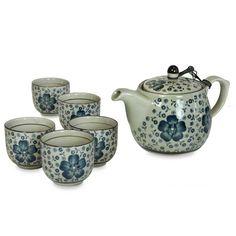 Tea Set - Blue Blossom