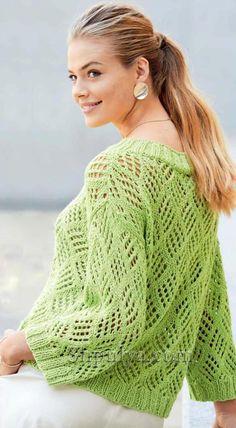 Baby Knitting Patterns, Knitting Stitches, Tunic Sweater, Knit Crochet, Style Inspiration, Tops, Sweaters, Clothes, Women
