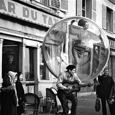 "Melvin Sokolsky Harper's Bazaar ""Bubble"" Spring Collection Photography"