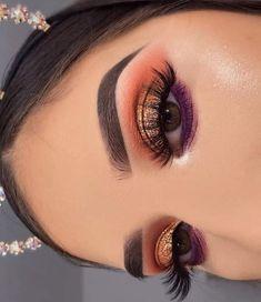 Makeup Trends, Makeup Inspo, Makeup Inspiration, Glamorous Makeup, Gorgeous Makeup, Creative Makeup Looks, Simple Makeup, Eyeshadow Looks, Eyeshadow Makeup