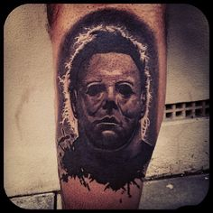 1000 images about tattoos on pinterest horror tattoos for Michael myers tattoo
