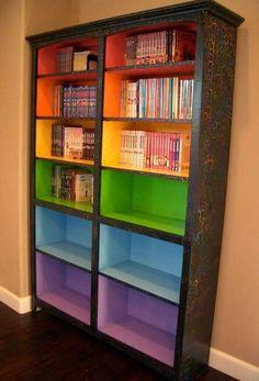 Bookshelf repaint