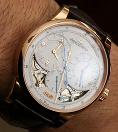 """Jaeger-LeCoultre Duomètre à Chronographe Watch Review - by Ariel Adams - see all the photos, hands-on video, and read more on aBlogtoWatch.com """"The Jaeger-LeCoultre Duomètre à Chronographe is a real watch lover's watch. A lot of people can appreciate its impressive design that mixes technical appeal and classic looks, but when it comes down to it, this watch was built by serious watch lovers for serious watch lovers..."""""""
