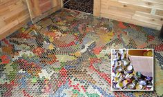 bottle cap floors