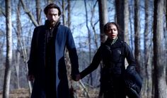 SLEEPY HOLLOW Friday 7/8c Fox Tom Mison & Nicole Beharie #SleepyHollow #SleepyHollowFox #RenewSleepyHollow  Watch now FoxNow/Hulu