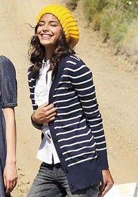 hat & boyfriend sweaters = <3.