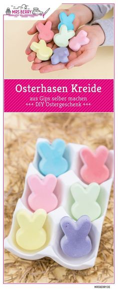 Osterhasen Kreide selber machen Easter bunnies make chalk themselves as a last minute Easter present Easter Presents, Easter Gift, Easter Bunny, Presents For Men, Gifts For Dad, Xmas Gifts, Diy Gifts, Diy Birthday, Birthday Gifts
