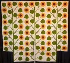 Come Quilt (Sue Garman) Sunflower Quilts, Tobacco Basket, Baby Blocks, Antique Quilts, Reproduction, Culture, French, Antiques, Home Decor