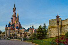 Sleeping Beauty's Castle as seen from Fantasyland, Disneyland Paris