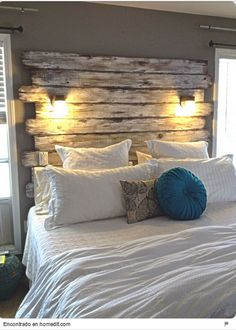 This is a Bedroom Interior Design Ideas. House is a private bedroom and is usually hidden from our guests. However, it is important to her, not only for comfort but also style. Much of our bedroom … My New Room, Home Bedroom, Master Bedrooms, Modern Bedroom, Bedroom Wall, Rustic Bedrooms, Bedroom Ideas For Couples Rustic, Cheap Bedroom Ideas, Contemporary Bedroom