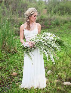 bouquet of long flowers