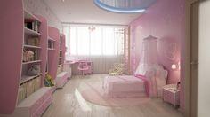 интерьер детской комнаты, дизайн детской, как украсить детскую комнату, детская комната в современном стиле
