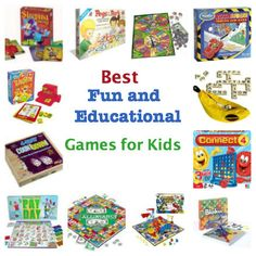 Top 10:  Best Fun & Educational Board Games :: PragmaticMom