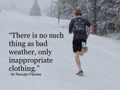 Winter running is always a tricky one – you've worked so hard throughout the year to get where you are that the Idea of having to loose fitness and redo everything is unbearable. I Love To Run, Run Like A Girl, Just Run, Girls Be Like, Running Quotes, Running Motivation, Daily Motivation, Fitness Motivation, Motivation Quotes