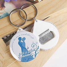 Aliexpress.com : Buy Free Shipping Personalized Wedding Favors And Gifts Bottle Opener & Keychain Wedding Gifts For Guests Wedding Souvenirs from Reliable magnet puzzle suppliers on I Do.