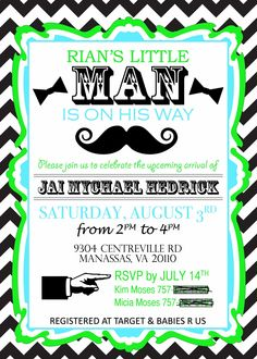Pin by m b on 0 pinterest little man baby shower invitation i made for my sons mustache and bow tie themed party filmwisefo