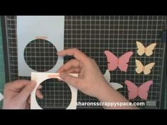 EASEL CARD TUTORIAL WITH A STAMP FROM THE GREETING FARM.mpg - YouTube