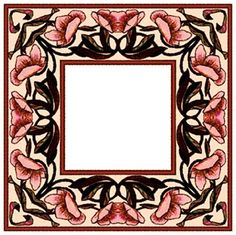 ArtbyJean - Paper Crafts: ---FRAMES - Square Loving Can Hurt Sometimes, Scrapbook Frames, Paper Mache, Decoupage, Card Making, Paper Crafts, Clip Art, Prints, Cards