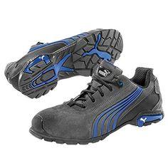 Chaussures de sécurité ESD S1P PUMA Safety VELOCITY 2.0 BLUE LOW 643850 43 Taille: 43 bleu 1 paire(s)