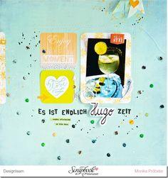 *Imagicallery* Layout von Monika für die #scrapbookwerkstatt #sbw #hugo