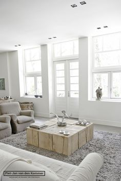 Luxe appartement - woonkamer