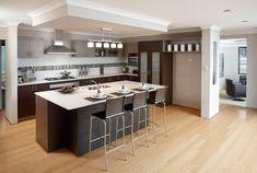 Resultado de imagen para cocinas integradas al living comedor