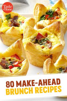 80 Make-Ahead Brunch Ideas That Let You Sleep In (And Still Wow Your Guests!)