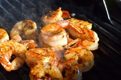 Grilled Gulf Shrimp - post written by Barry CB Martin on Char-Broil's Sizzle on the Grill to showcase the features and benefits of new infrared grills.    www.welcometothecookout.com  #recipe