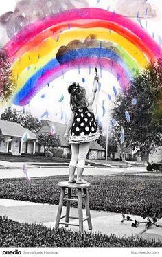Hayallerinizin peşinden gidin.