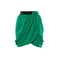 Kendall Jenner H&M skirt ($36) ❤ liked on Polyvore featuring skirts, bottoms, h&m, gonne, h&m skirts and green skirt