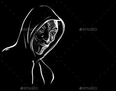 Buy Anonymous Mask Illustration by thesensercomplex on PhotoDune. Angel Devil Tattoo, Angel And Devil, Wallpaper Windows 10, Anonymous Mask, Alienware, Nature Pictures, Illustrations, Stock Photos, Logos
