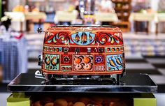 Dolce & Gabbana Is Releasing A Line Of Kitchen Appliances Decorated With Sicilian Motifs