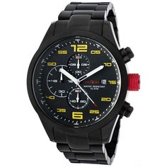 Redline Men's Stealth Chronograph Watch