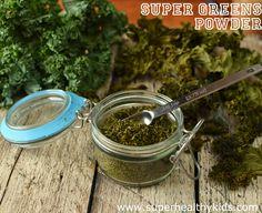DIY Greens Powder